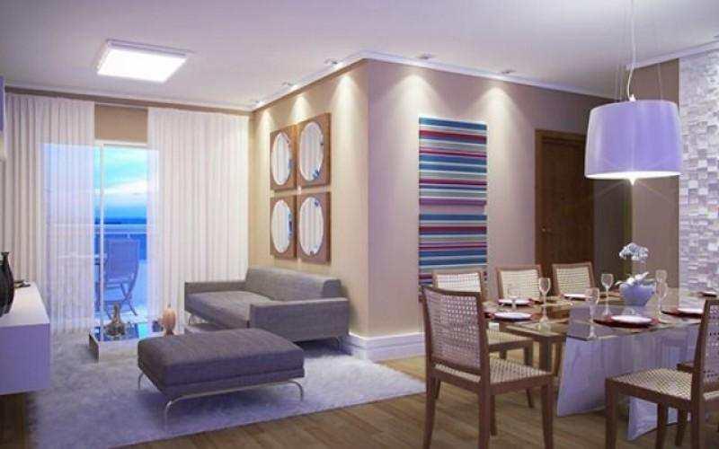 Lindo apartamento novo  em frente a praia com 01 dormitorios