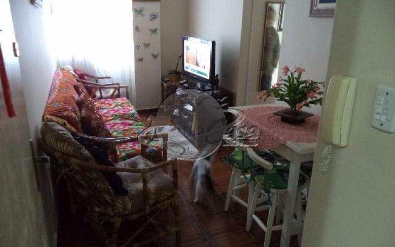 Apartamento com 1 dorm, Aviação, Praia Grande - R$ 150 mil, Cod: 2712