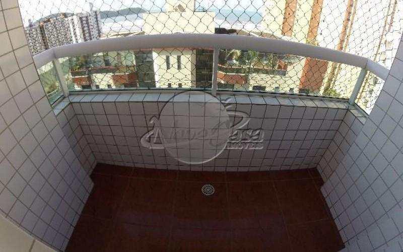 Apartamento com 3 dorms, Guilhermina, Praia Grande - R$ 420 mil, Cod: 2112