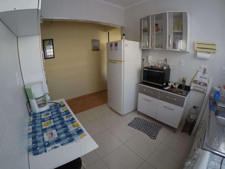 Apartamento com 1 dorm, Guilhermina, Praia Grande - R$ 180 mil, Cod: 4597