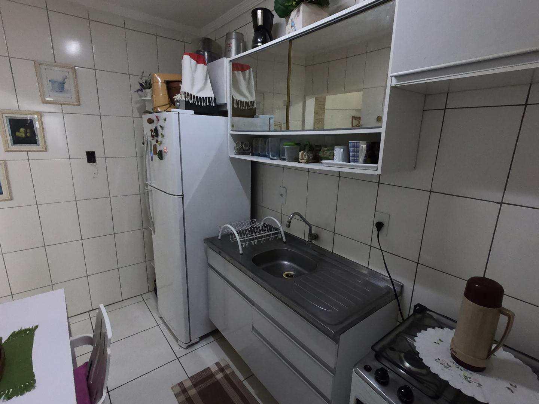 Apartamento com 1 dorm, Guilhermina, Praia Grande - R$ 169 mil, Cod: 4877