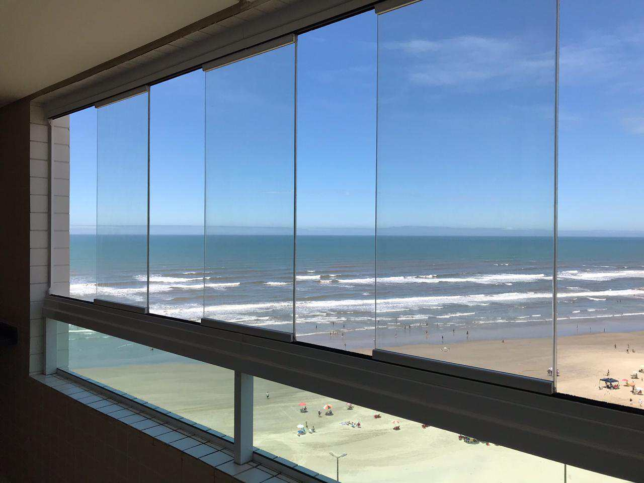 Apartamento com 1 dorm, Caiçara, Praia Grande - R$ 245 mil, Cod: 4888