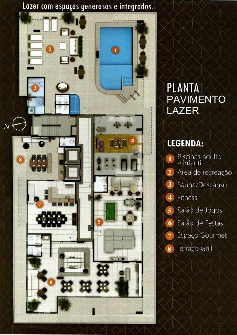 Apartamento com 2 dorms, Canto do Forte, Praia Grande - R$ 210 mil, Cod: 4867