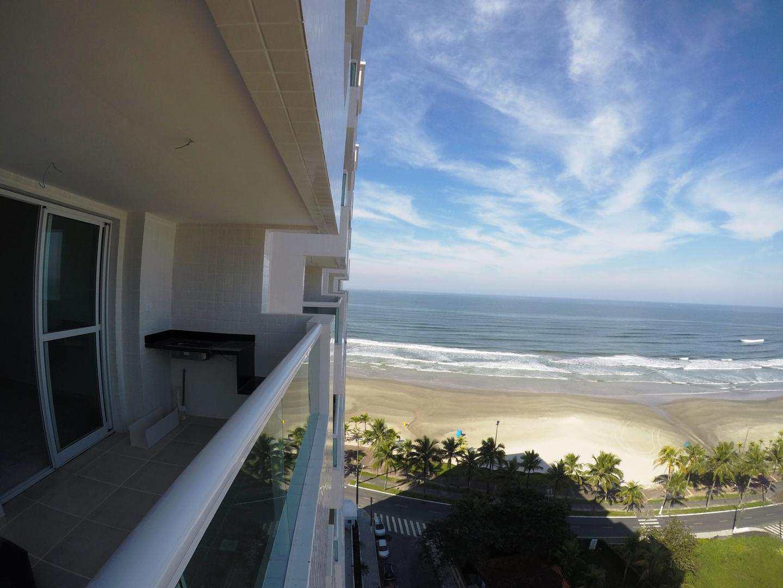 Apartamento com 2 dorms, Flórida, Praia Grande - R$ 411 mil, Cod: 4844