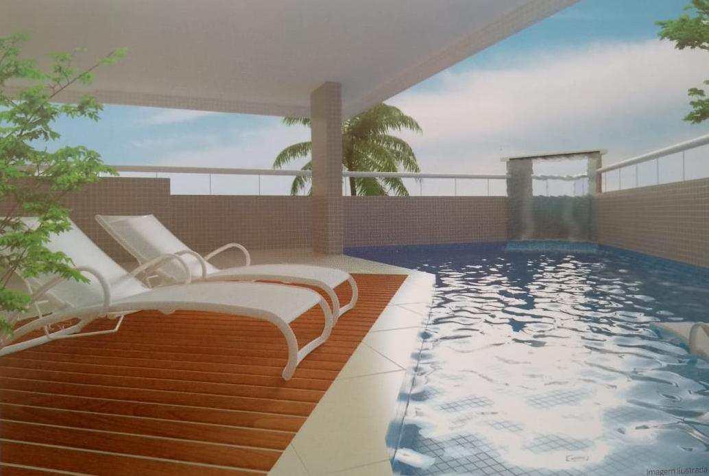 Apartamento com 1 dorm, Mirim, Praia Grande - R$ 216 mil, Cod: 4698
