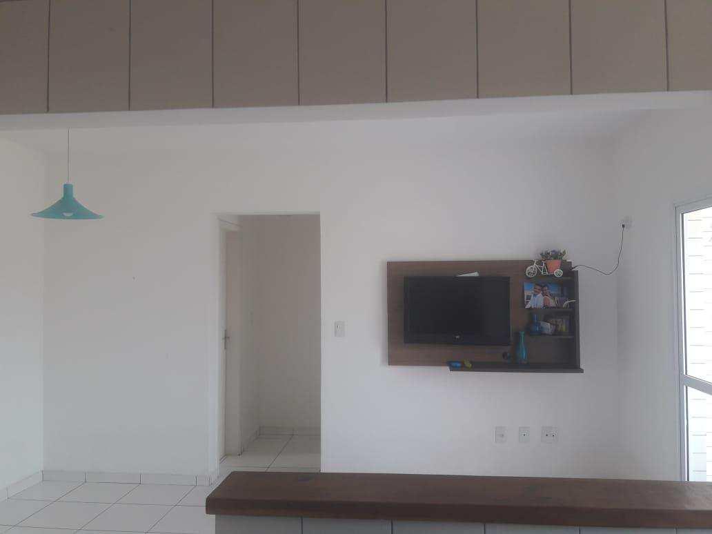 Apartamento com 1 dorm, Guilhermina, Praia Grande - R$ 165.000,00, 46m² - Codigo: 45