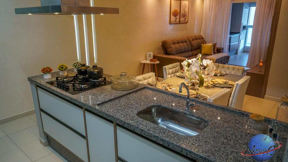 Apartamento com 3 dorms, Boqueirão, Praia Grande - R$ 880 mil, Cod: 5235