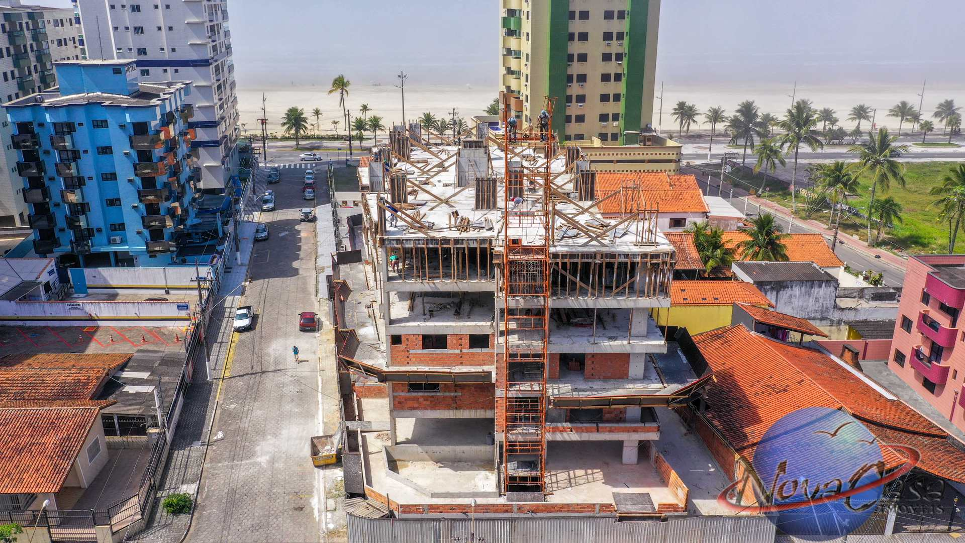 Apartamento com 2 dorms, Guilhermina, Praia Grande - R$ 407 mil, Cod: 5275