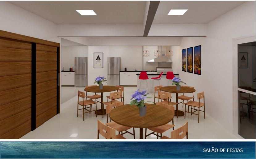 Apartamento com 2 dorms, Guilhermina, Praia Grande - R$ 438 mil, Cod: 5277