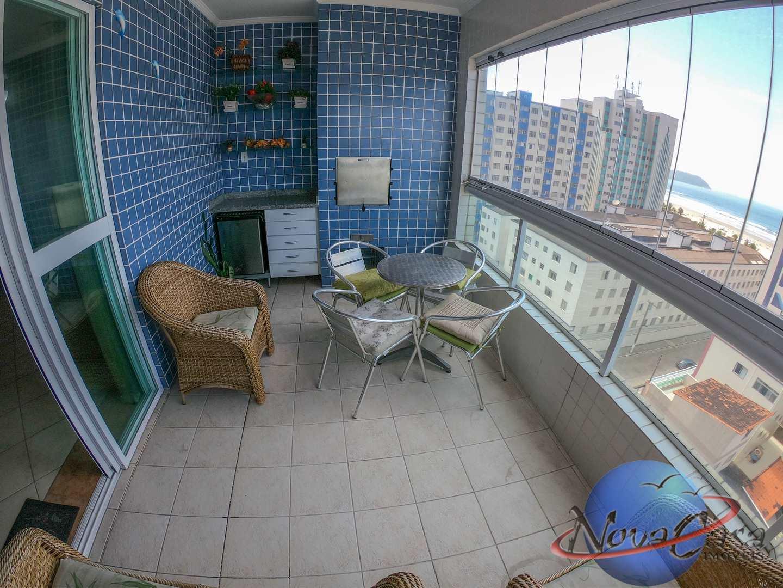 Apartamento com 3 dorms, Guilhermina, Praia Grande - R$ 420 mil, Cod: 5284