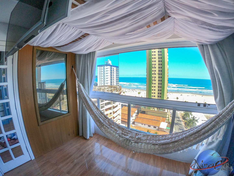 Apartamento com 2 dorms, Guilhermina, Praia Grande - R$ 750 mil, Cod: 5326