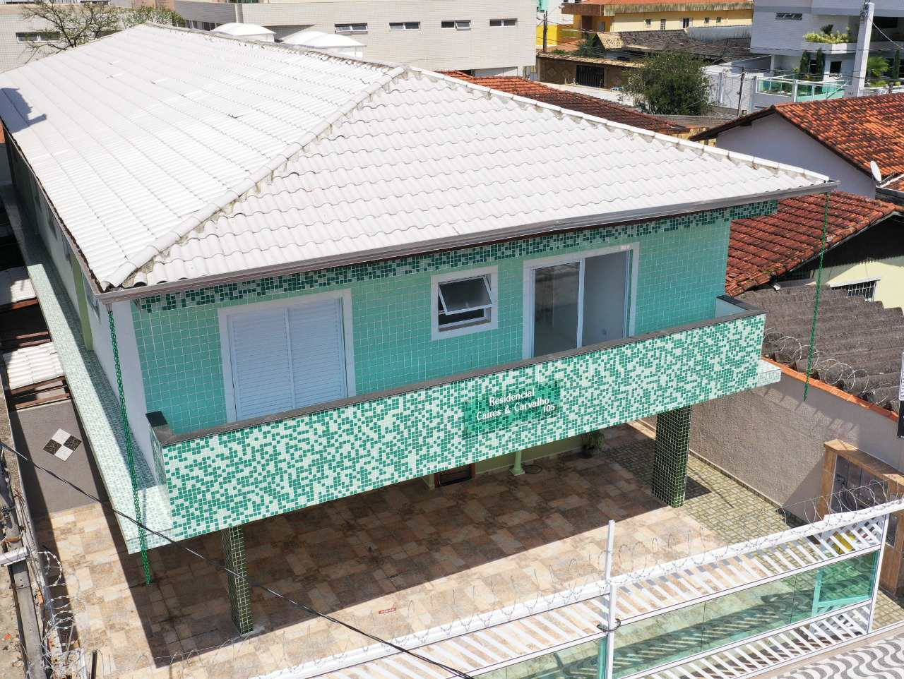 Casa de Condomínio com 2 dorms, Tupi, Praia Grande - R$ 230 mil, Cod: 5328