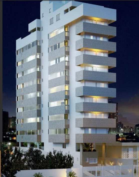 Apartamento com 2 dorms, Guilhermina, Praia Grande - R$ 418 mil, Cod: 5340