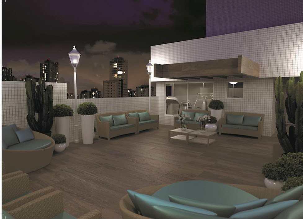 Apartamento com 1 dorm, Guilhermina, Praia Grande - R$ 206 mil, Cod: 5344