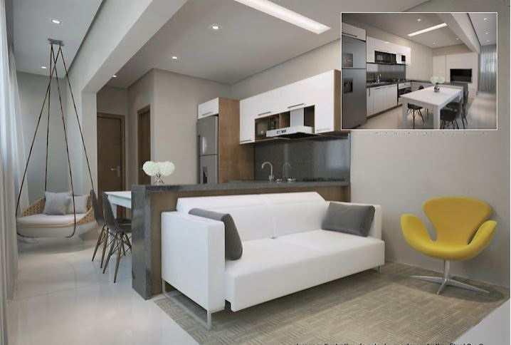 Apartamento com 1 dorm, Guilhermina, Praia Grande - R$ 210 mil, Cod: 5346