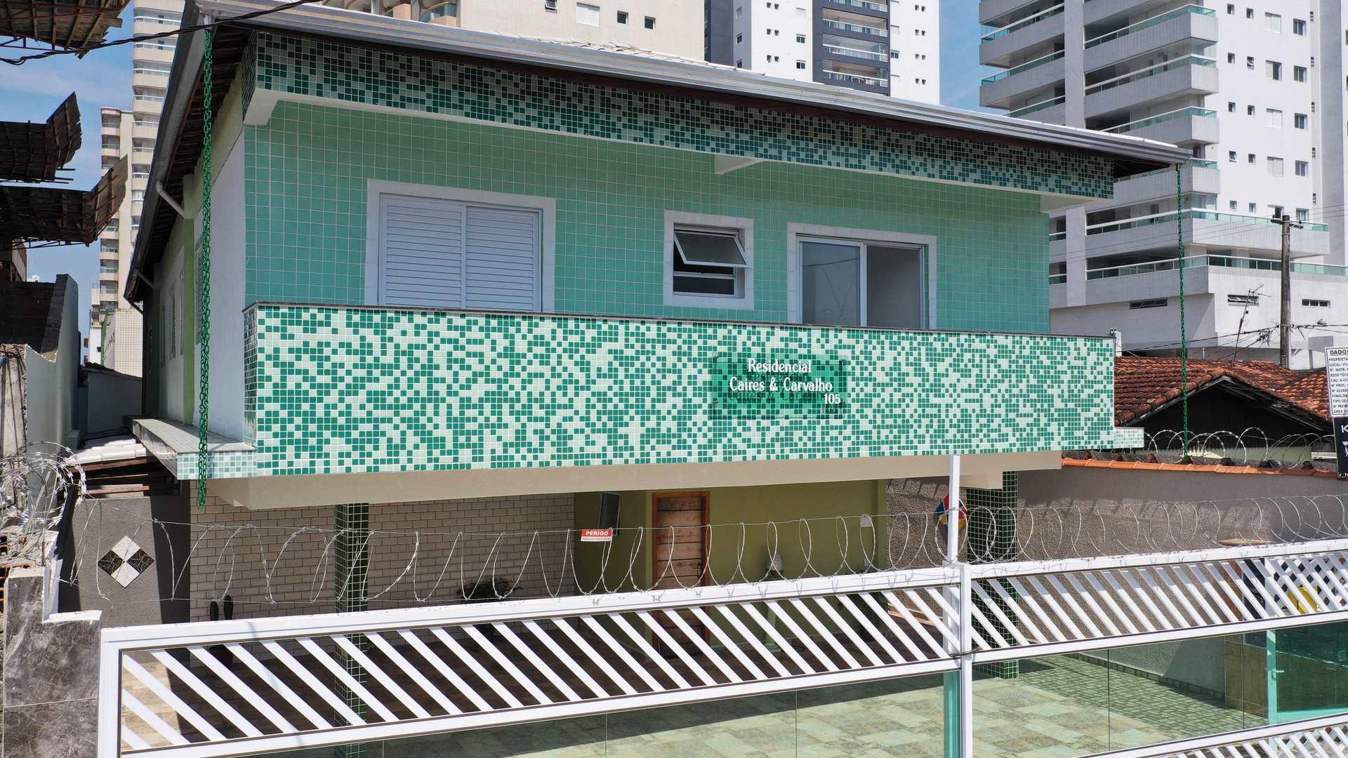 Casa de Condomínio com 2 dorms, Tupi, Praia Grande - R$ 220 mil, Cod: 5348