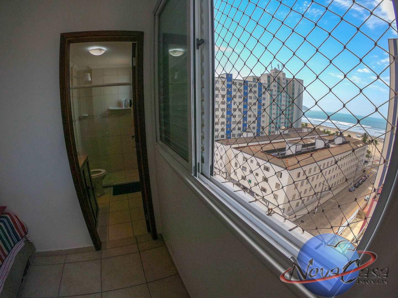 Apartamento com 3 dorms, Guilhermina, Praia Grande - R$ 450 mil, Cod: 5354