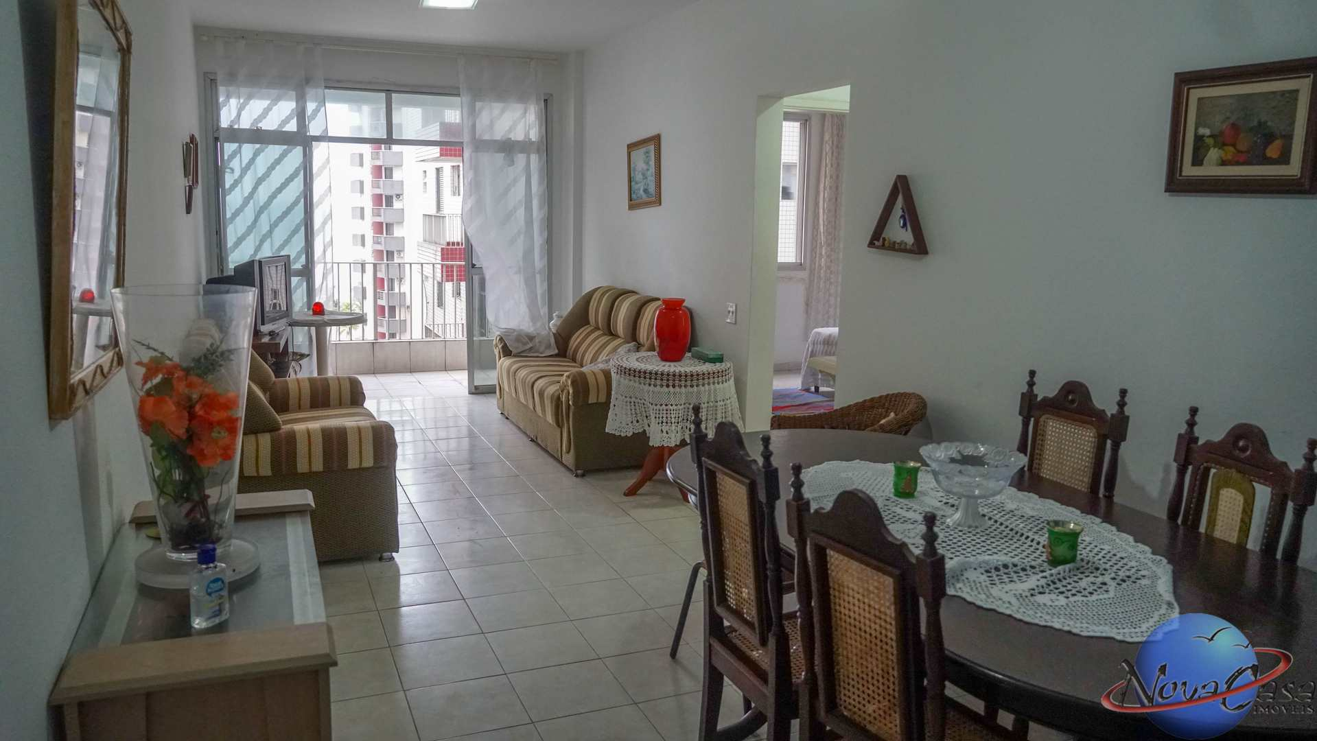 Apartamento com 2 dorms, Guilhermina, Praia Grande - R$ 280 mil, Cod: 5369