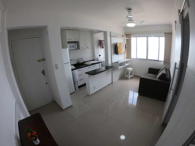 Apartamento com 1 dorm, Guilhermina, Praia Grande - R$ 220 mil, Cod: 5379