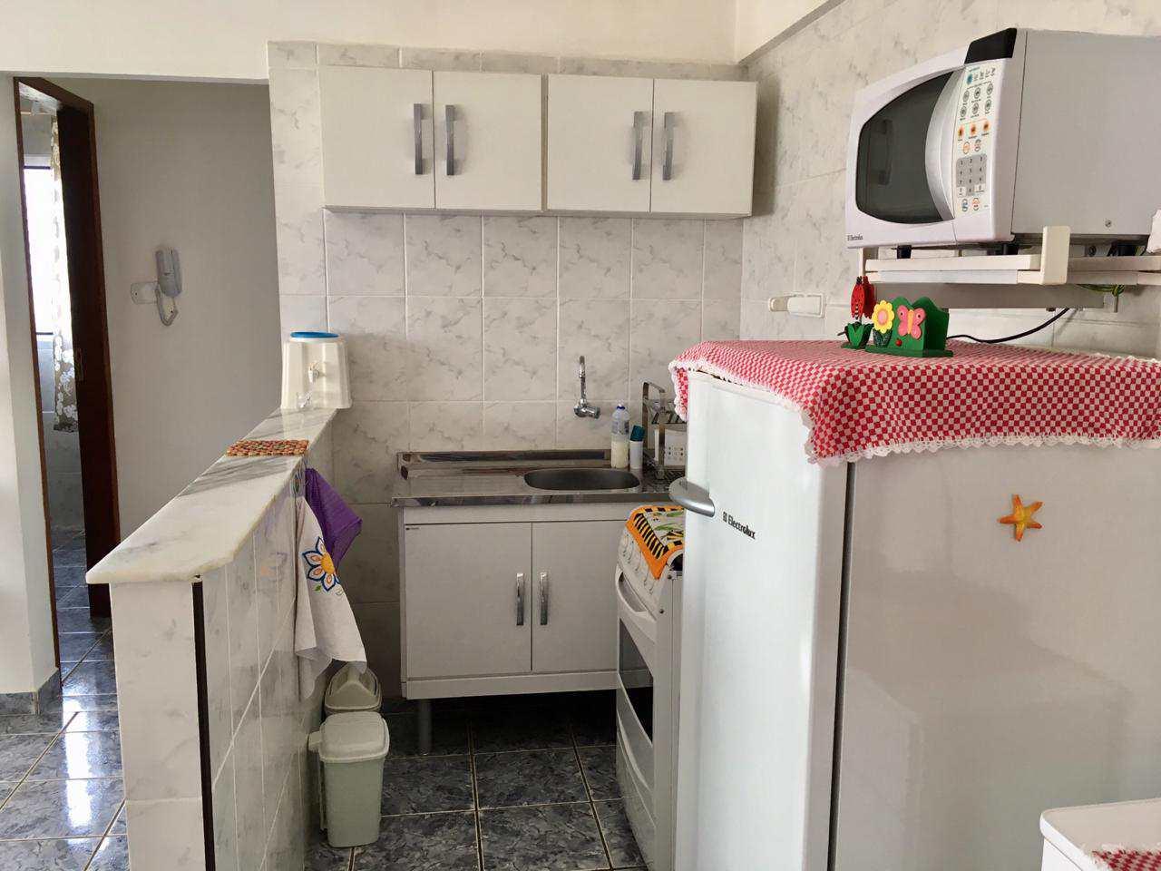 Apartamento com 1 dorm, Guilhermina, Praia Grande - R$ 108 mil, Cod: 5435