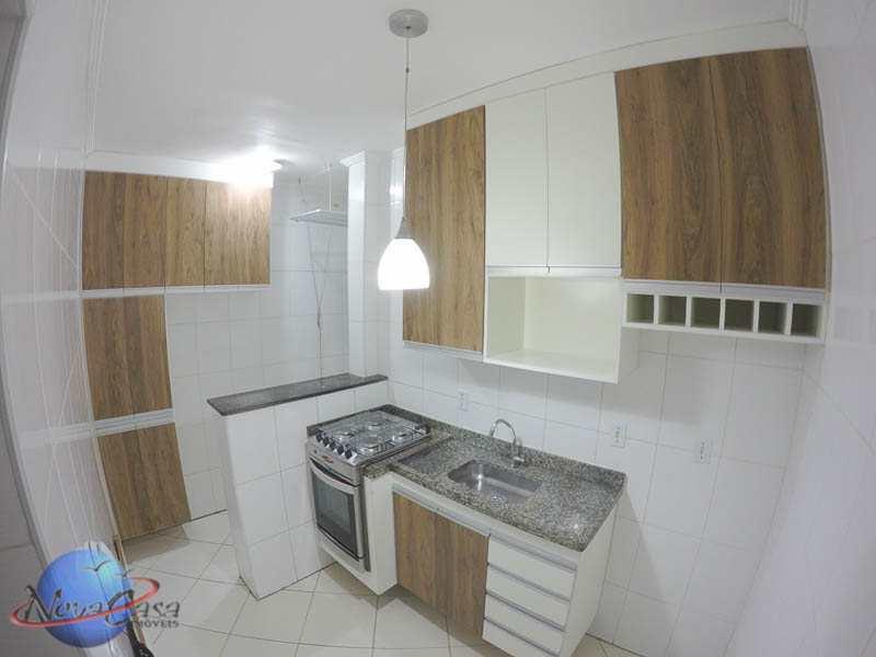 Apartamento com 2 dormitórios com vista para o Mar e Sacada