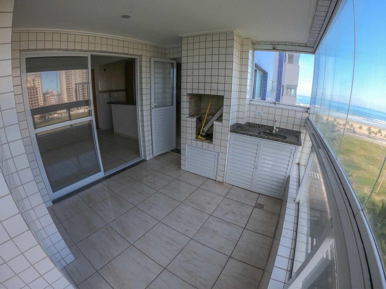 Apartamento com 3 dorms, Guilhermina, Praia Grande - R$ 650 mil, Cod: 5460