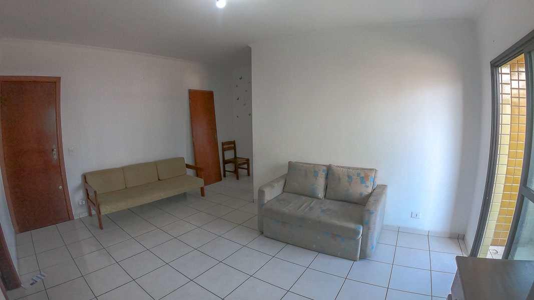 Apartamento com 1 dorm, Guilhermina, Praia Grande - R$ 218 mil, Cod: 5623