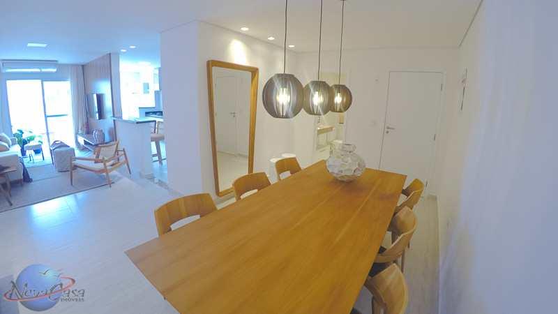 Apartamento com 3 dorms, Guilhermina, Praia Grande - R$ 600 mil, Cod: 5649