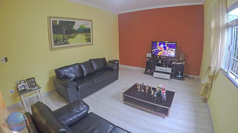 Casa com 2 dorms, Maracanã, Praia Grande - R$ 420 mil, Cod: 5914
