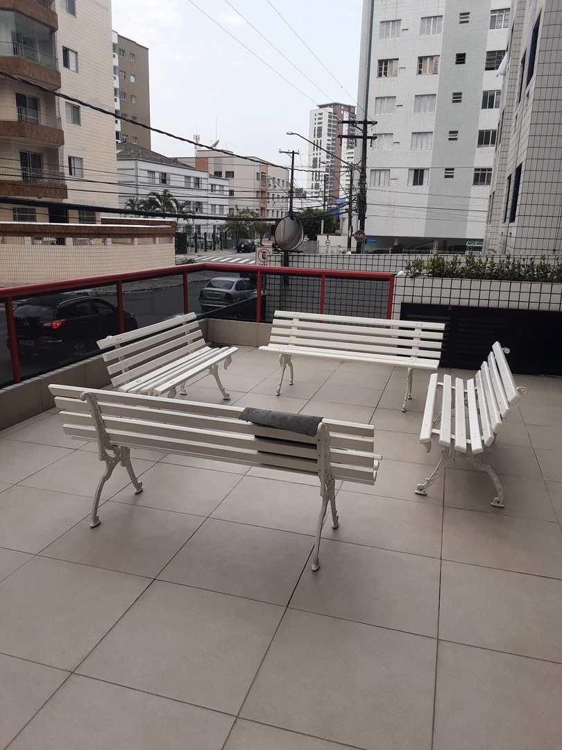 Apartamento com 1 dorm, Guilhermina, Praia Grande - R$ 170 mil, Cod: 5969