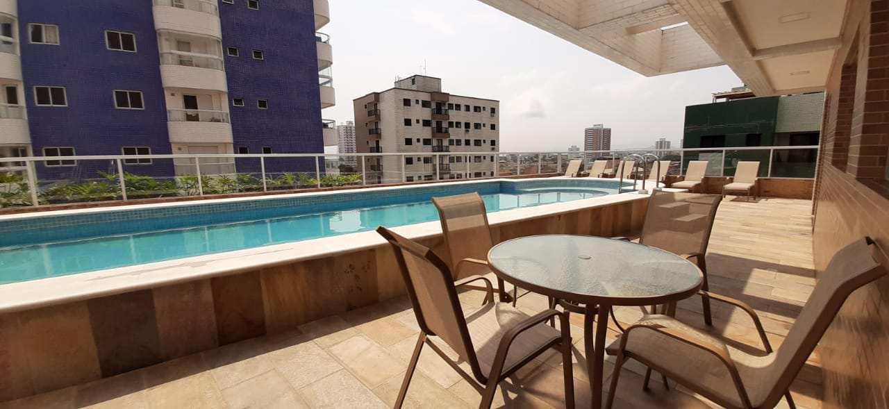 Apartamento com 2 dorms, Aviação, Praia Grande - R$ 420 mil, Cod: 6020