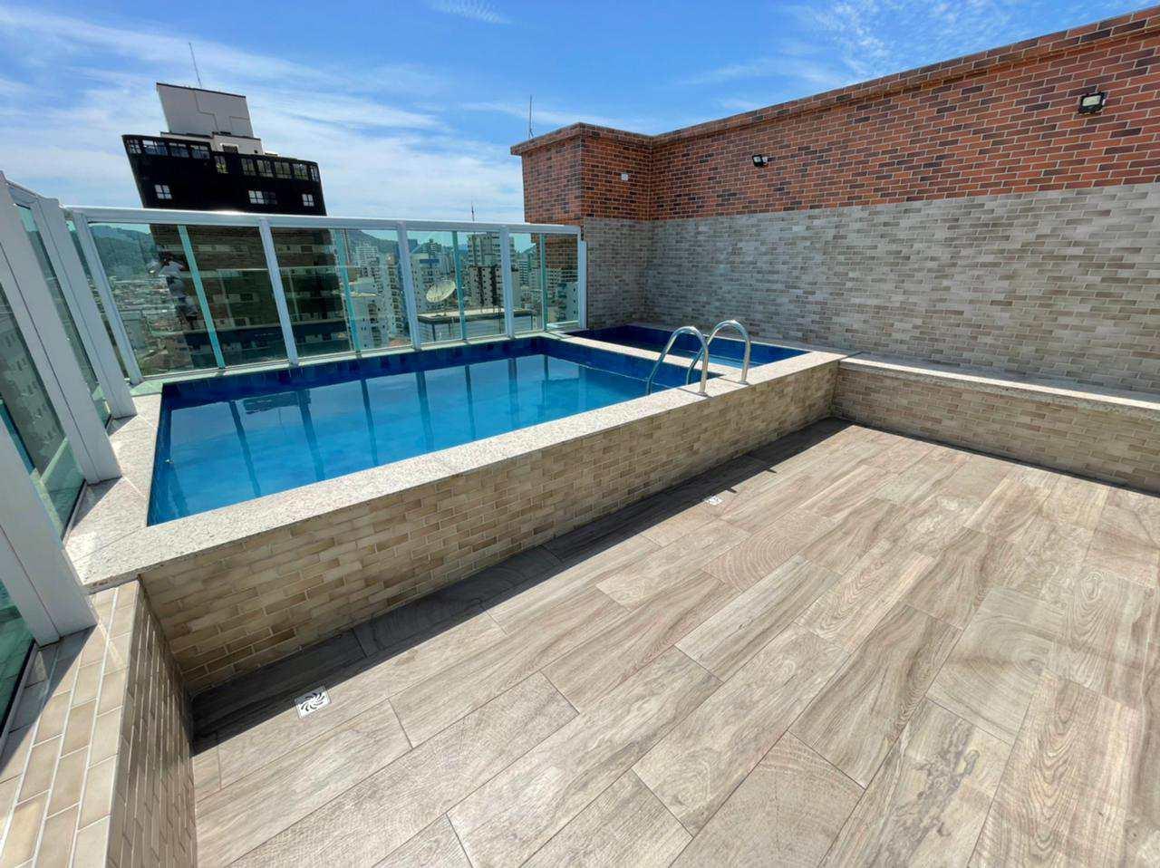 Apartamento com 2 dorms, Guilhermina, Praia Grande - R$ 285 mil, Cod: 6081