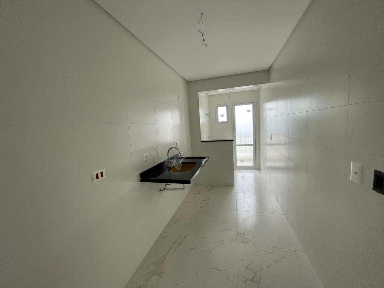 Apartamento com 2 dorms, Guilhermina, Praia Grande - R$ 450 mil, Cod: 6095