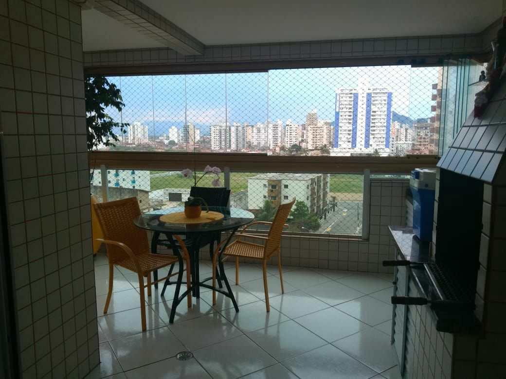 Apartamento com 2 dorms, Aviação, Praia Grande - R$ 460 mil, Cod: 6116