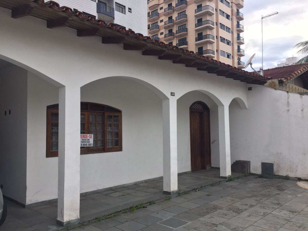 Casa com 3 dorms, Ocian, Praia Grande - R$ 550 mil, Cod: 6135