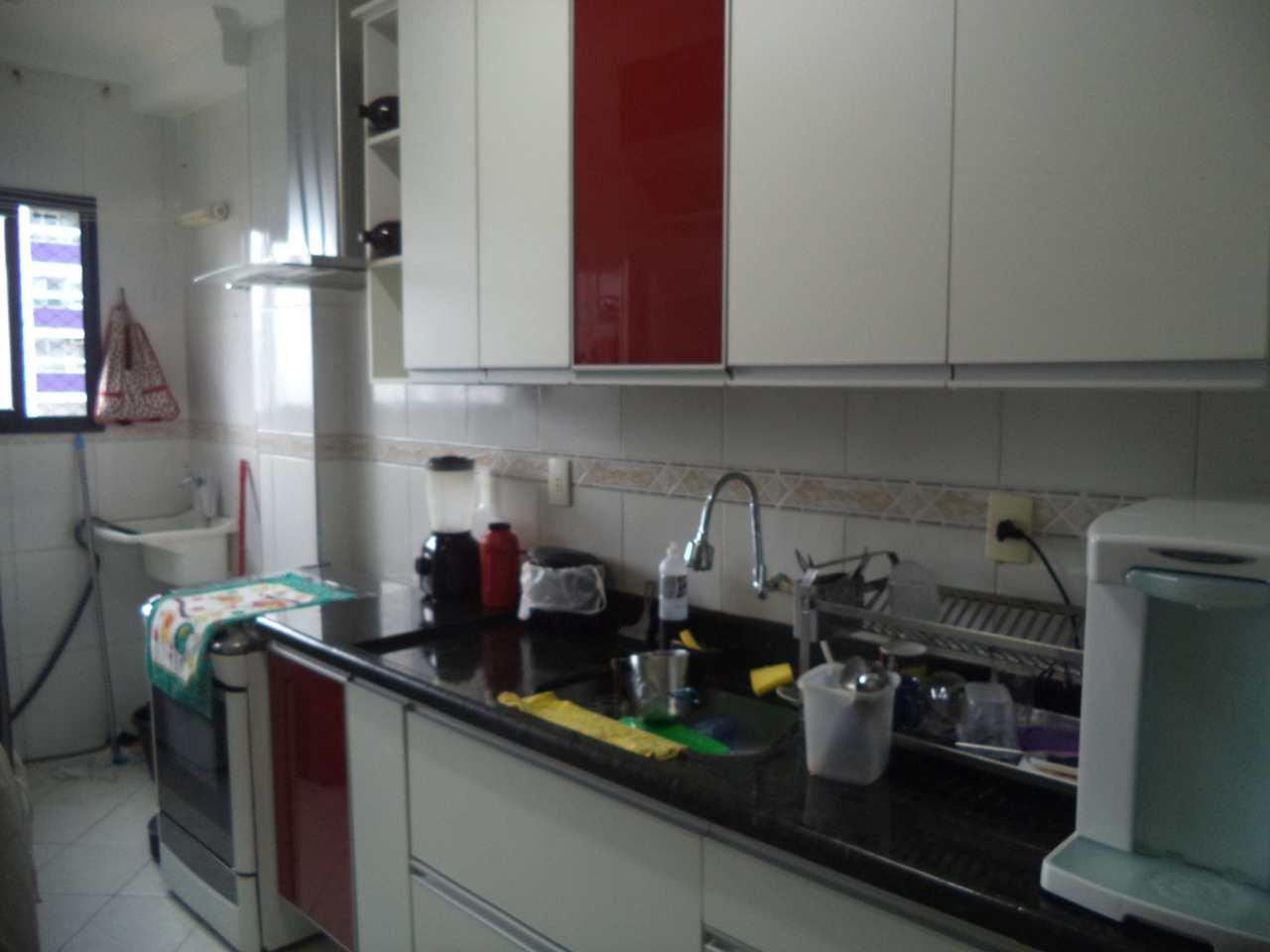 Apartamento com 3 dorms, Guilhermina, Praia Grande - R$ 410 mil, Cod: 6165