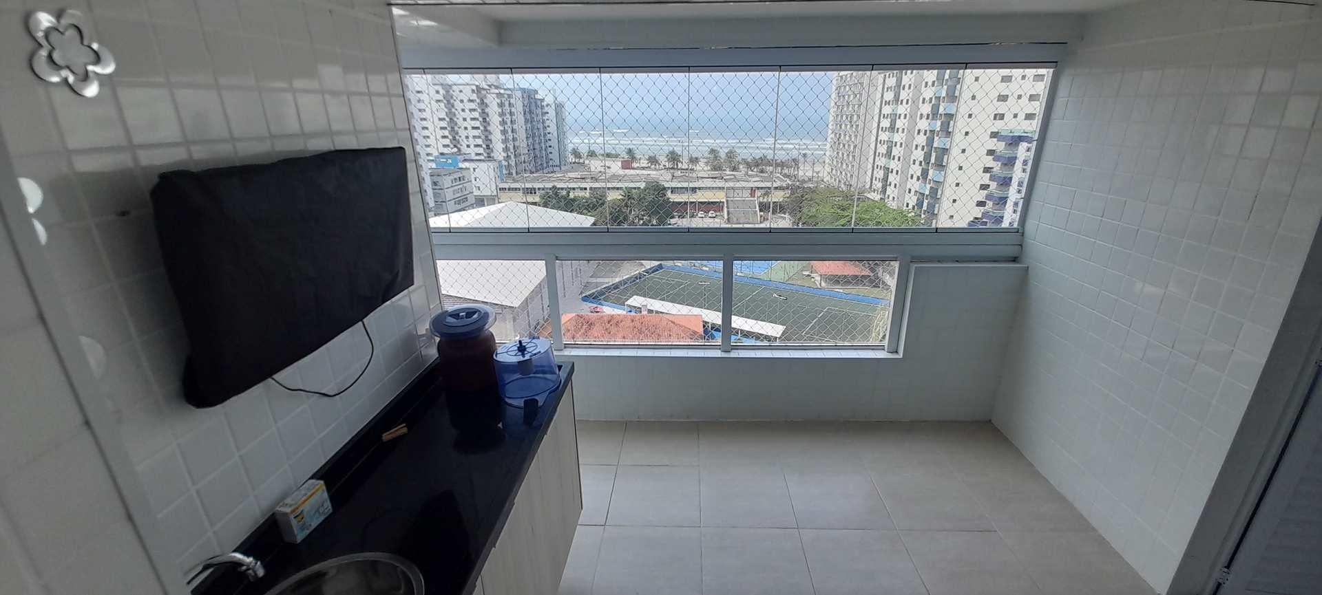 Apartamento com 3 dorms, Ocian, Praia Grande - R$ 420 mil, Cod: 6339