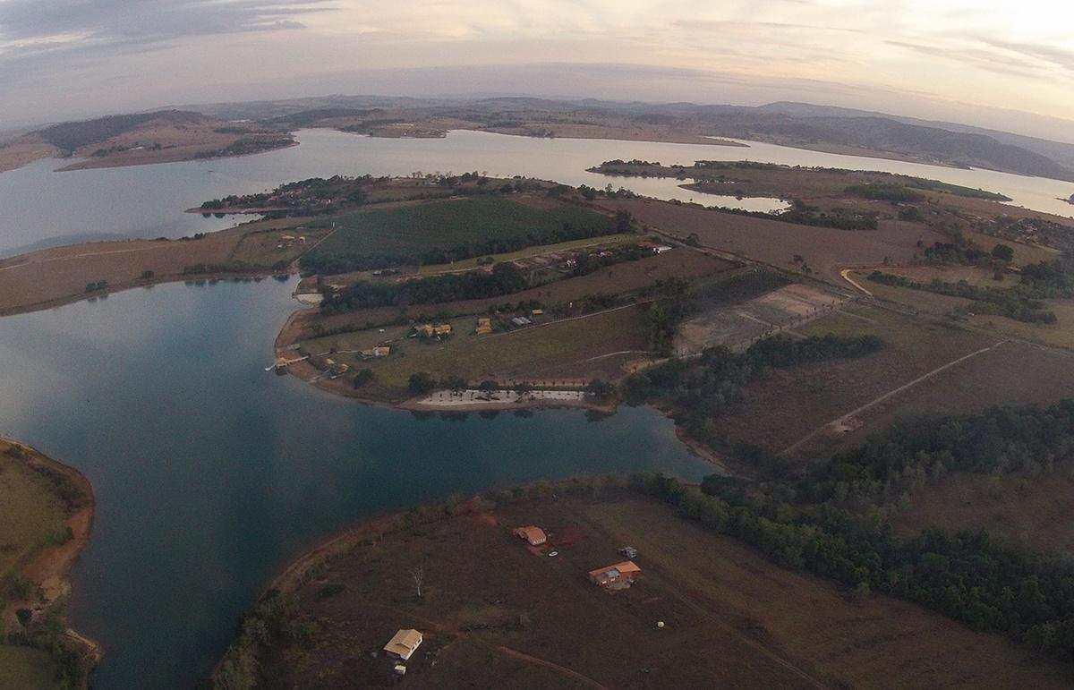 vista aerea do local