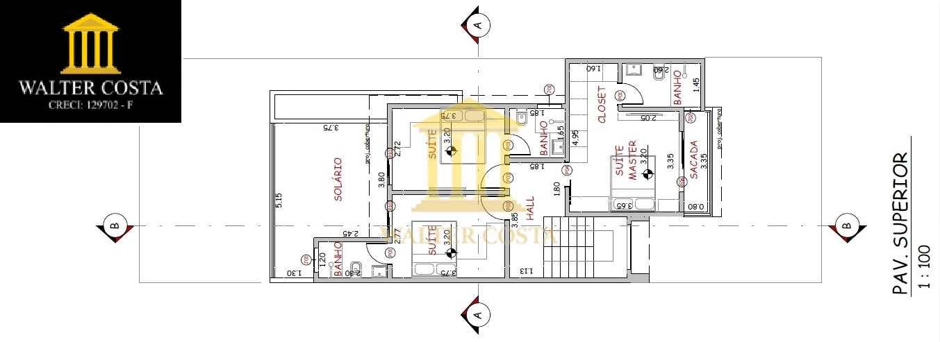Casa de Condomínio com 3 Suites em Morumbi, Paulínia