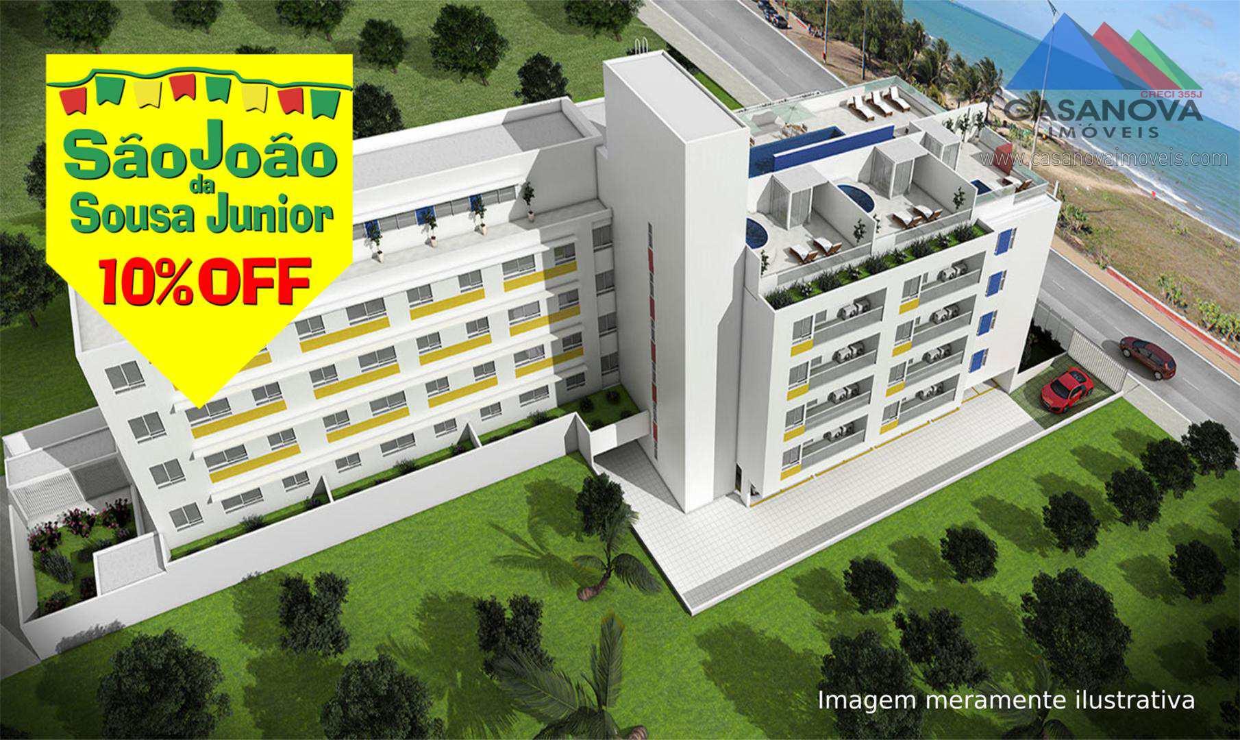 Apartamento com 2 dorms, Bessa, João Pessoa - R$ 448 mil, Cod: 65