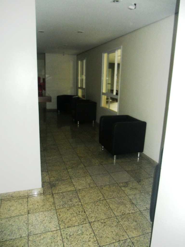 Área interna do hall de elevador