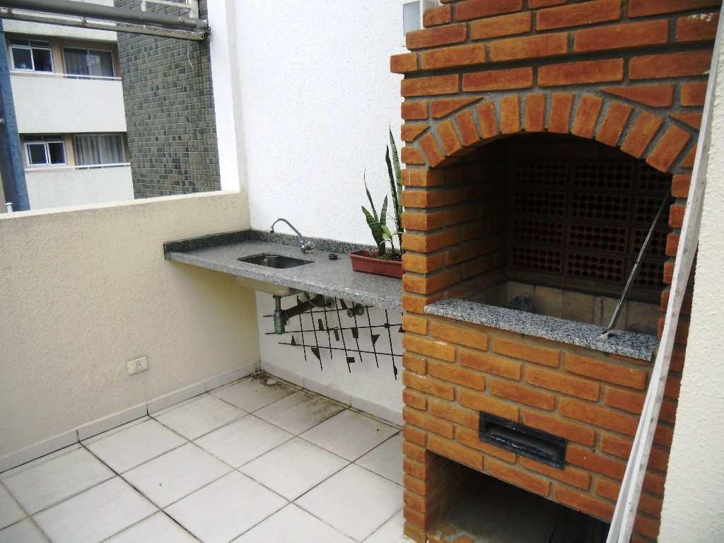 Churrasqueira do terraço do living