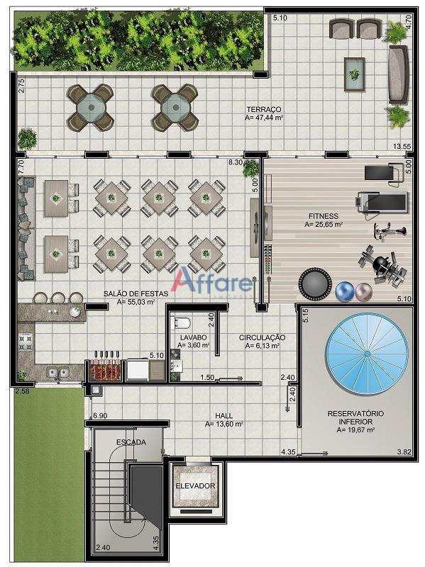 Apartamento com 2 dorms, Panazzolo, Caxias do Sul - R$ 315 mil, Cod: 24