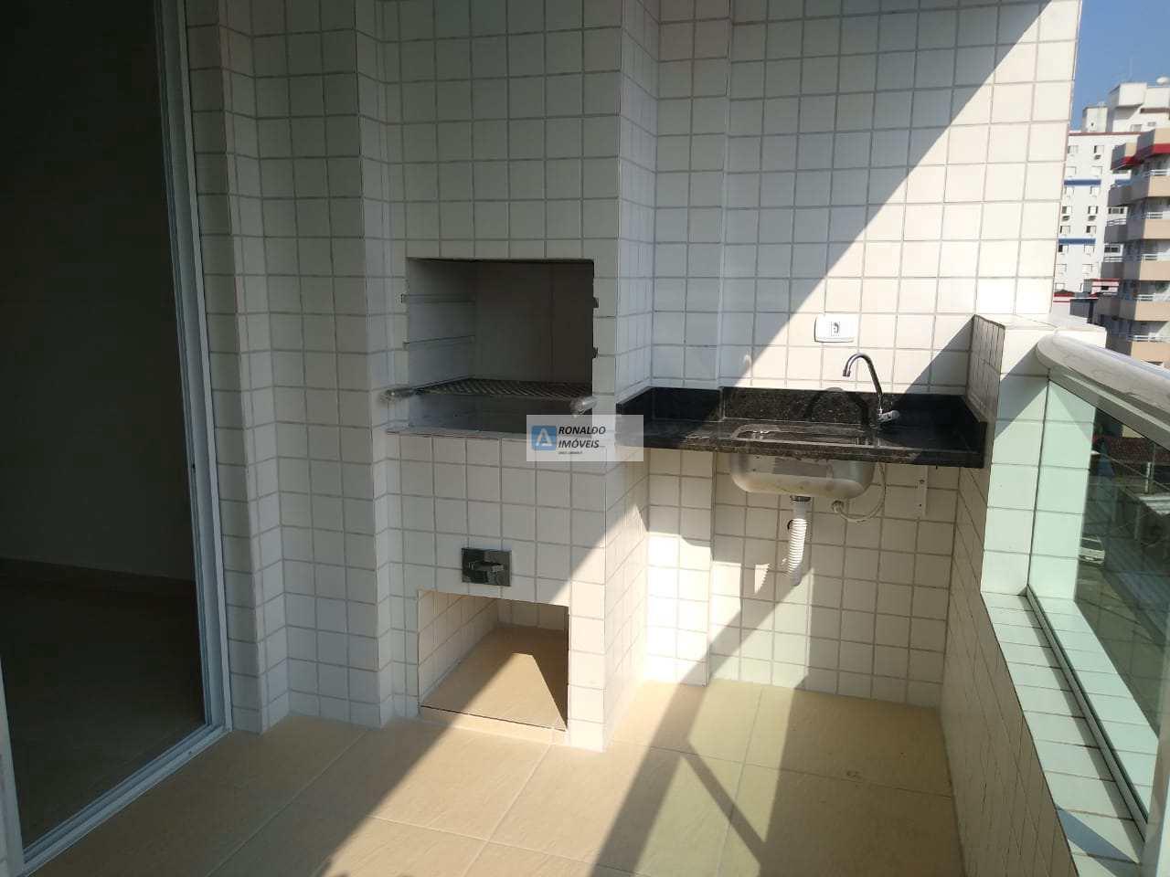 Apartamento com 2 dorms, Ocian, Praia Grande - R$ 318 mil, Cod: 870