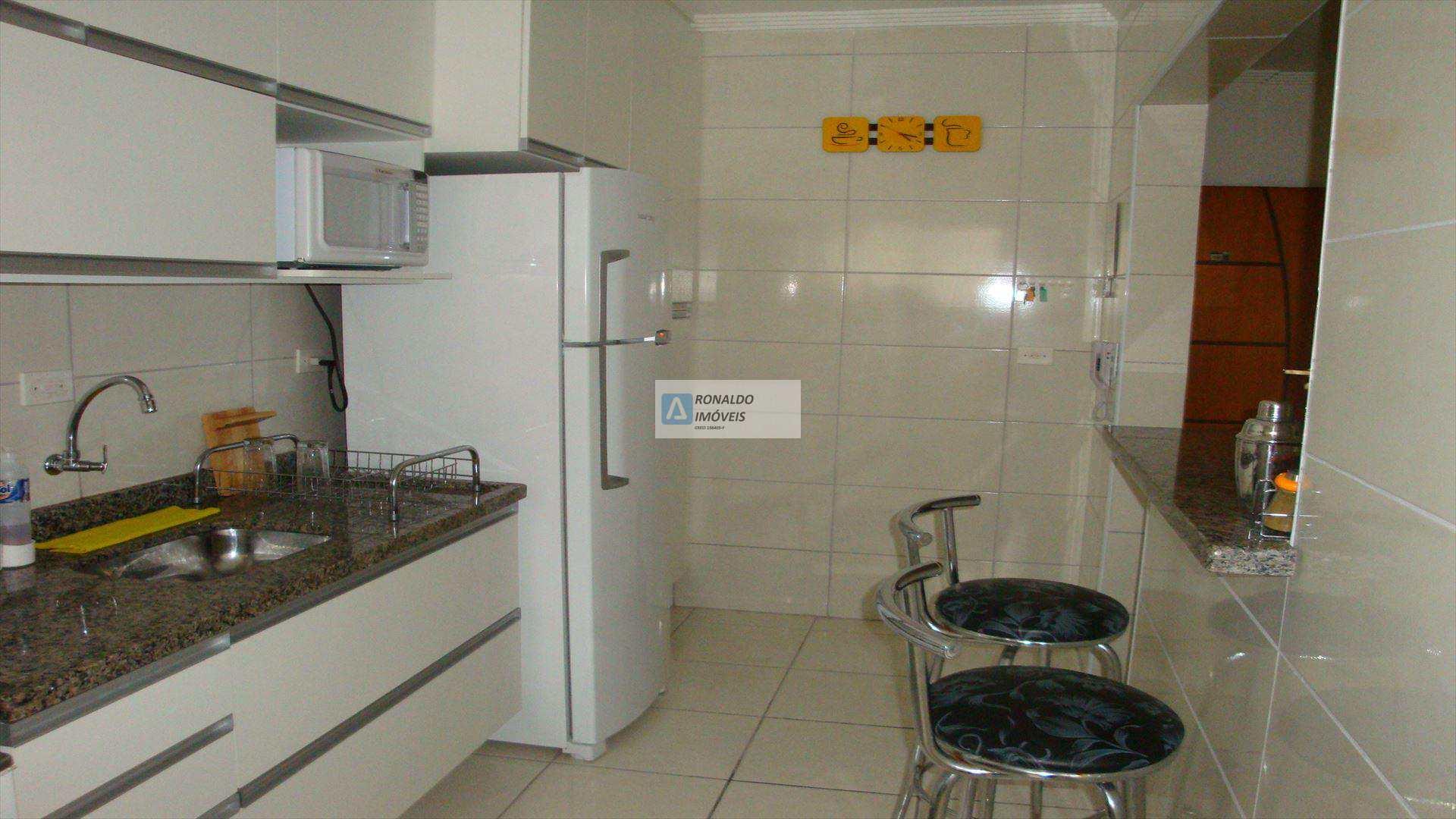 Apartamento com 2 dorms, Aviação, Praia Grande - R$ 330 mil, Cod: 78