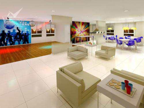 Apartamento com 3 dorms, Marapé, Santos - R$ 550.000,00, 84m² - Codigo: 367