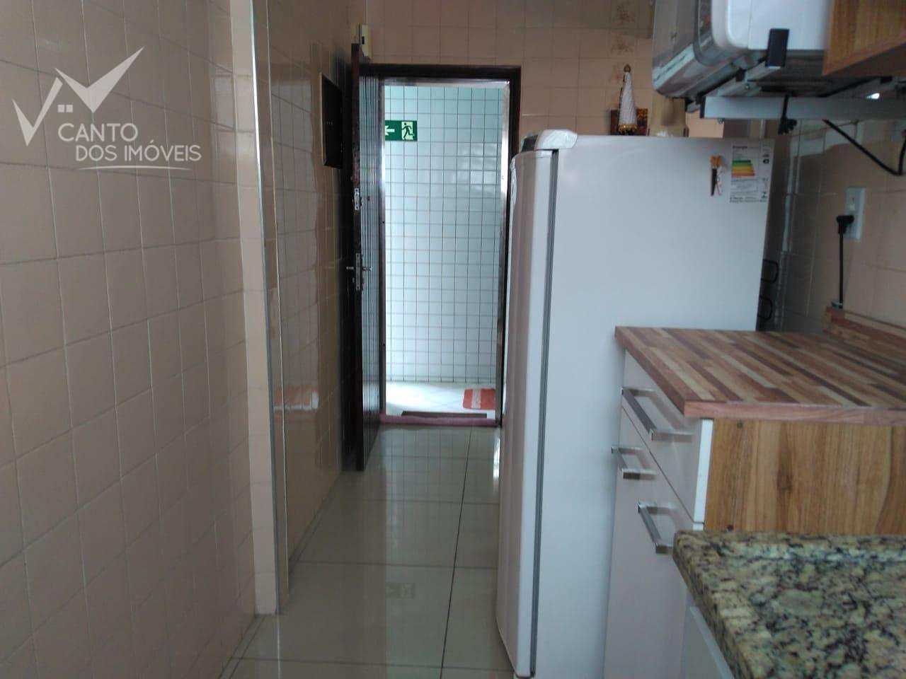 Kitnet com 1 dorm, Canto do Forte, Praia Grande - R$ 138.000,00, 38m² - Codigo: 435