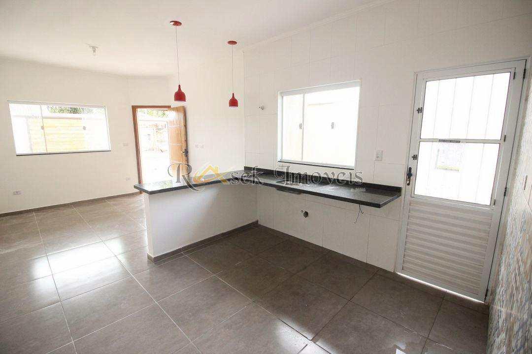 Casa com 2 dorms, Nova Itanhaém - Cod: 100