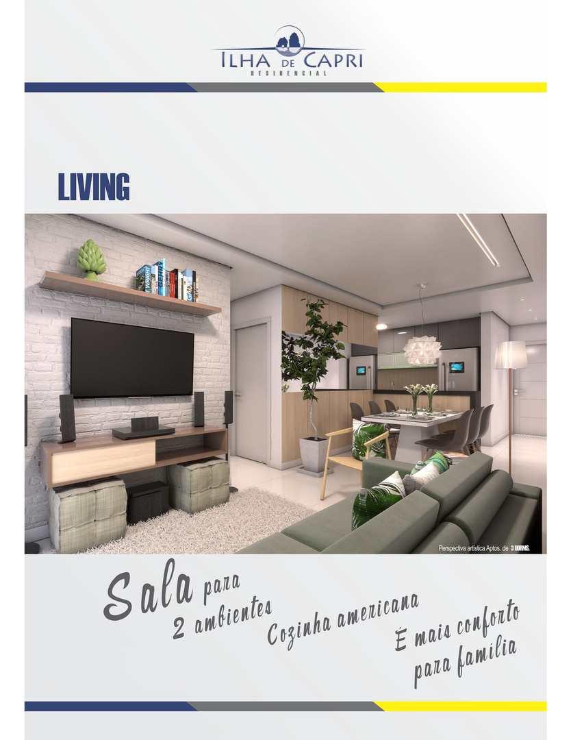 Apartamento com 2 dorms, frente ao mar - R$ 250 mil, Cod: 267