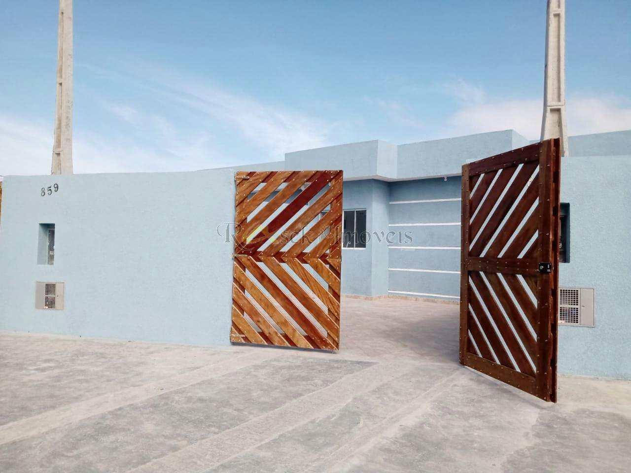 Casa com 2 dorms, Gaivotas, Itanhaém - R$ 230 mil, Cod: 344
